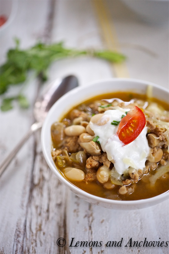 White Turkey Chili | Is your mouth watering yet? | Pinterest