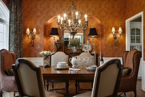 Tuscan dining dinning room ideas pinterest for Tuscan dining room ideas