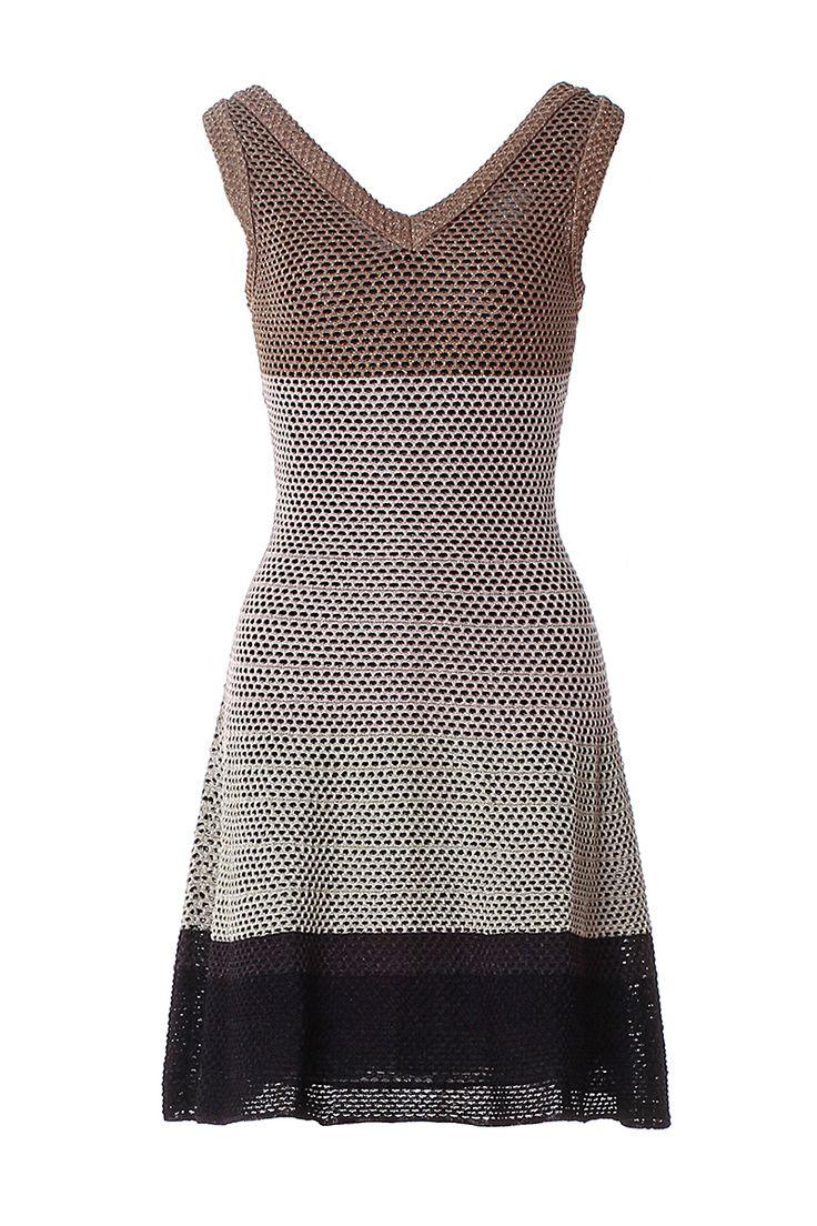 #MMissoni | Color Blocks Lurex Dress | Spring 2014 Collection