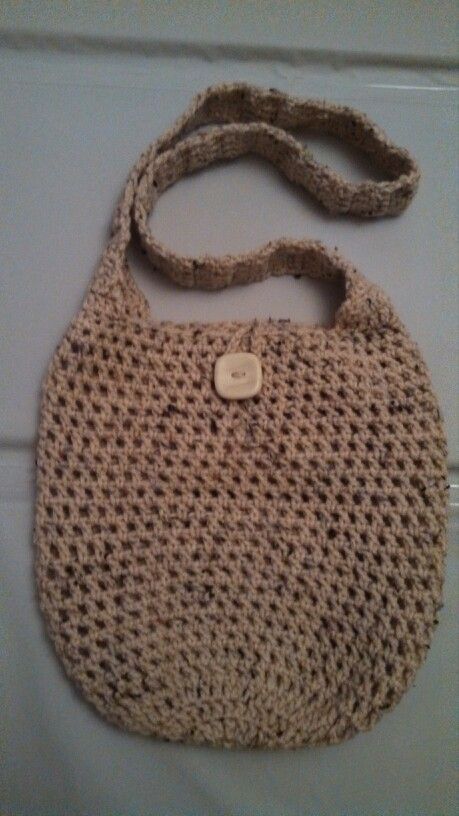 Crochet tote bag Things I made Pinterest