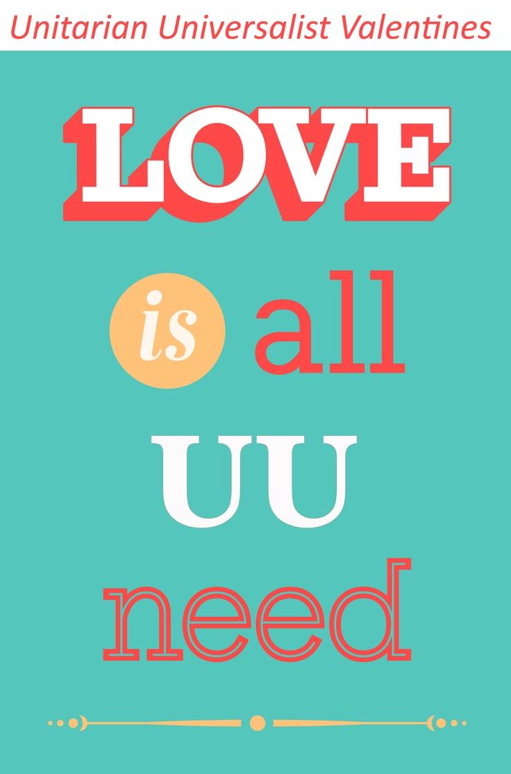Unitarian Universalist Valentine Cards | Unitarian Universalist | Pin ...