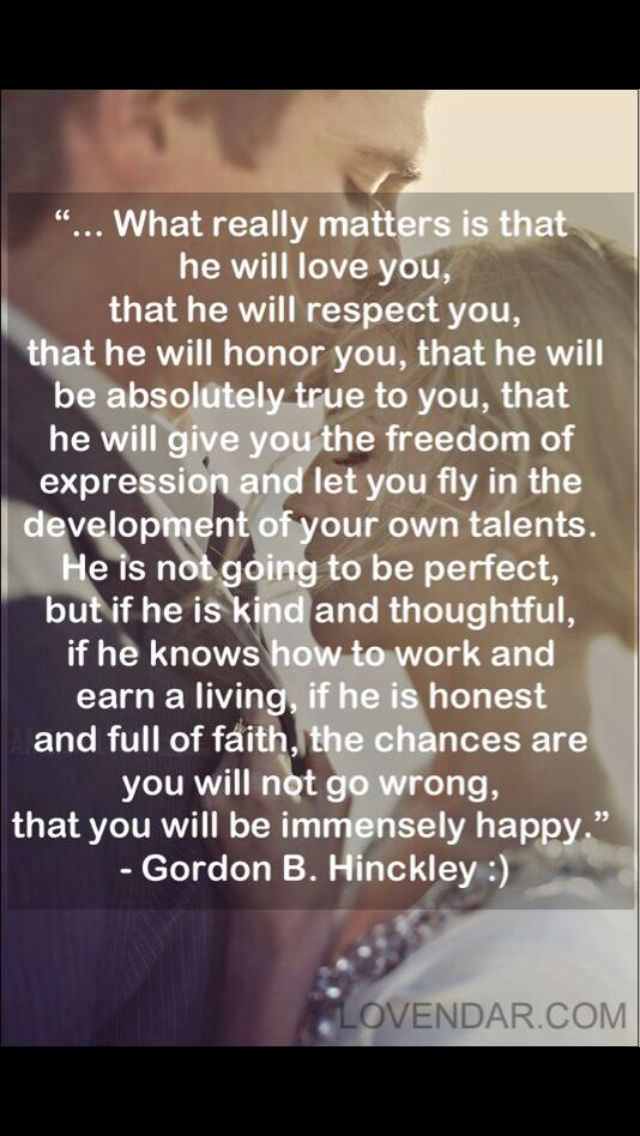 Gordon B Hinckley Quotes About Love : Gordon B Hinckley quote Quotes and Things That Put A Smile on my Fa ...