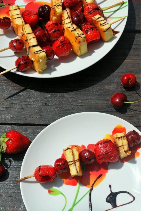 Grilled Cheesecake Kebabs | Tasty Treats | Pinterest