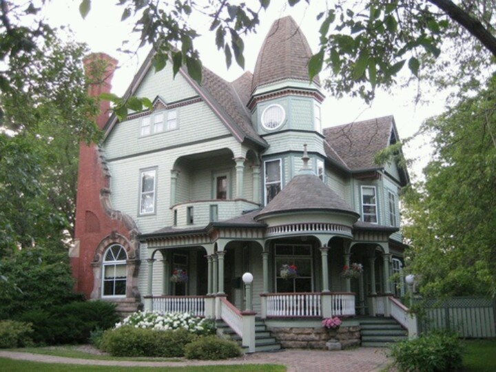 Victorian Style Home Wisconsin Second French Empire