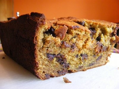 Curried Chocolate Chip Banana Bread | Cakes | Pinterest