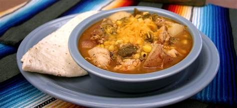 Green chile Chicken stew and green chile sauce recipes. Scroll down ...