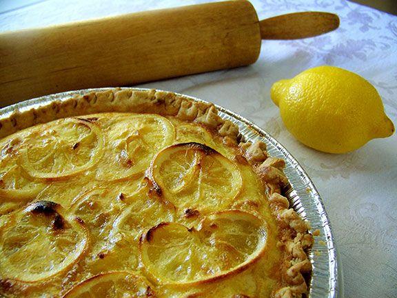 Shaker Lemon Pie, a tart and sassy Kentucky tradition. Fresh lemons ...