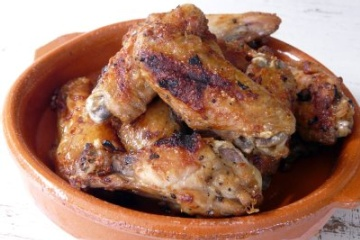 Lemon Dijon chicken wings. | Lunch and Dinner | Pinterest