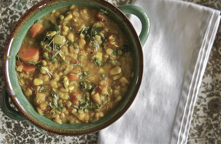 Hearty Lentil & Black Bean Soup With Smoked Paprika Recipes ...