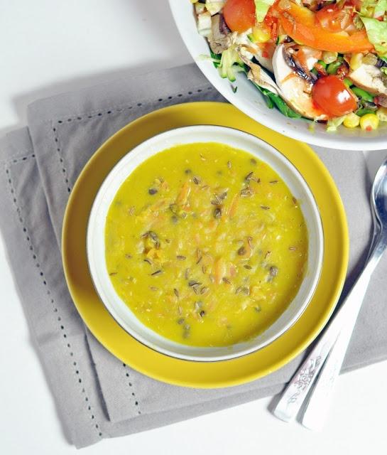 Carrot and lentil soup | Evening Kitchen | Pinterest