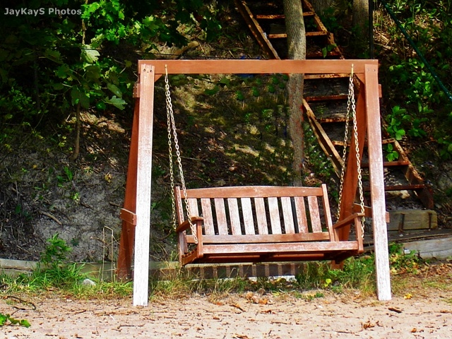 Bench Swing For The Home Pinterest