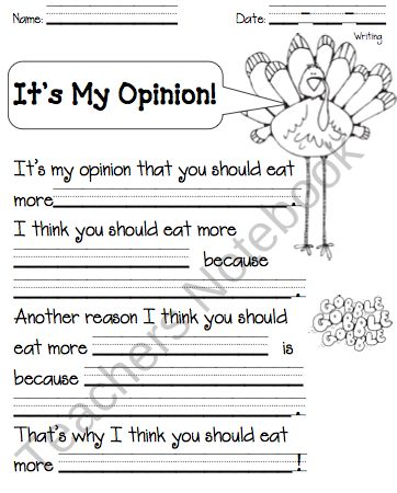 how to write a opinion essay