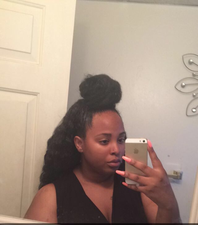 Crochet Braids Bun : Crochet braids w/ ninja bun Naturally dope hair and beauty Pinter ...