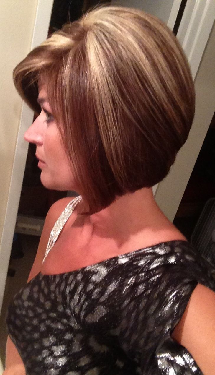 Bold Highlights For Short Hair | Dark Brown Hairs