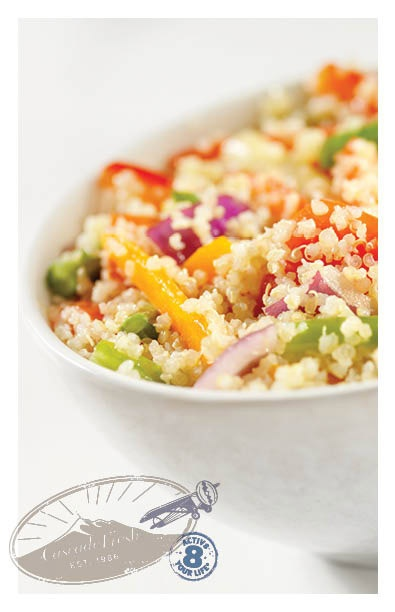 Quinoa with Mango and Curried Yogurt | Quinoa | Pinterest