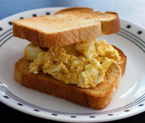 Incendiary Egg Salad Sandwiches | Yummy Eats | Pinterest
