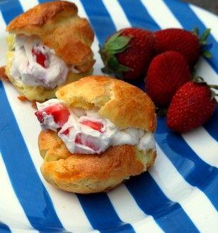 strawberry shortcake | Low Carb Desserts | Pinterest