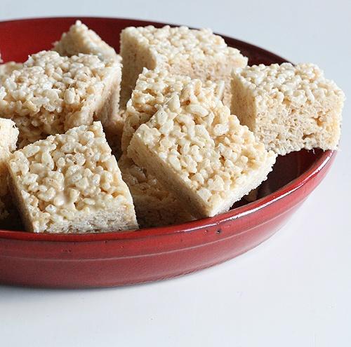 Salted Brown Butter Crispy Treats   Sweet   Pinterest