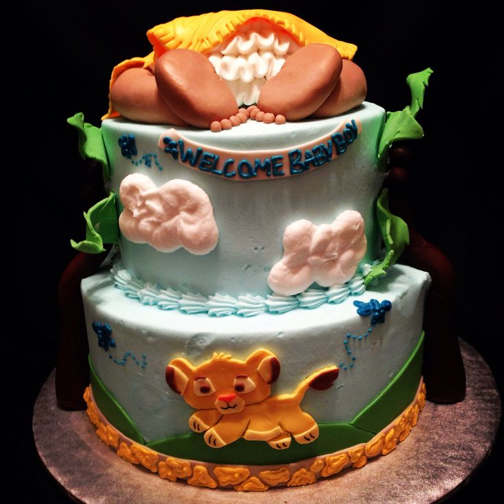 lion king baby shower cake lion king baby shower pinterest