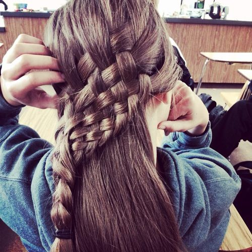 beach curl hairstyles : ... Braided Mohawk Hairstyles. on basket weave hairstyles for little girls