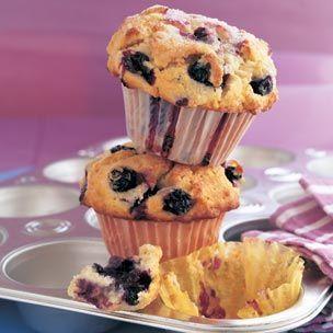 Big Blueberry Muffins photo | Muffins Galore | Pinterest