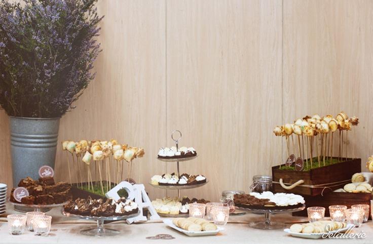 Decoraciones rusticas para buffets for Decoraciones rusticas para el hogar