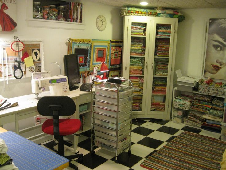 SEWING ROOM REMODEL.. | Studio - craft rooms - office | Pinterest
