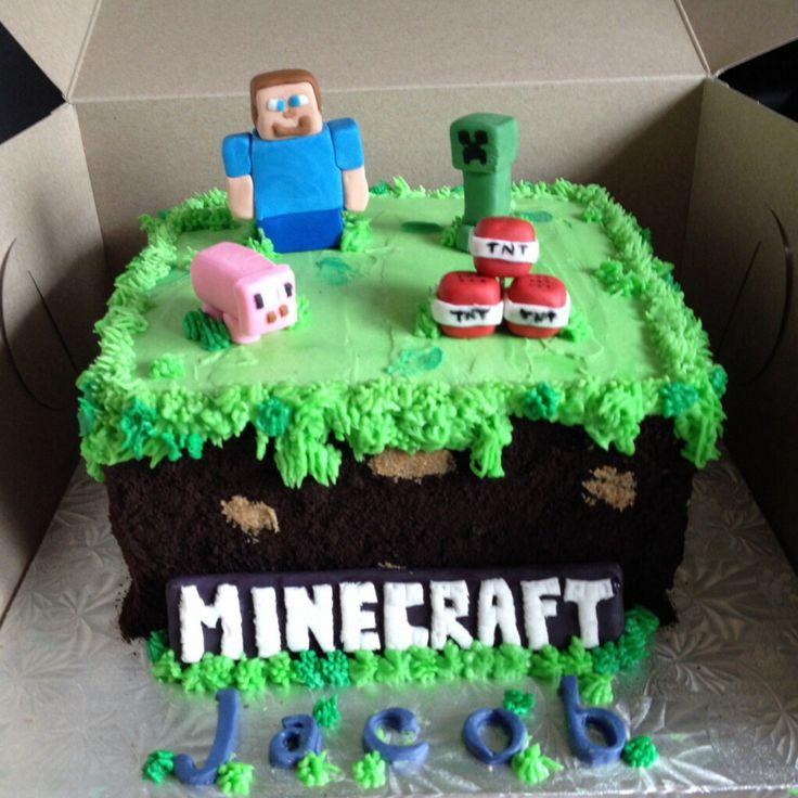 Minecraft Cakes Ideas Pinterest 14669 Minecraft Cake Minec