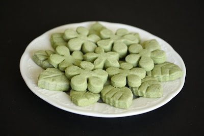 Spring Green Tea Shortbread Cookies | Kirbie's Cravings | A San Diego ...