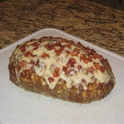 Bacon Mushroom Swiss Meatloaf   Recipe