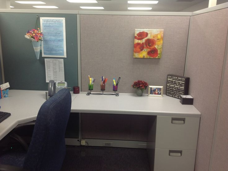 simple cubicle decor cube decorating ideas pinterest