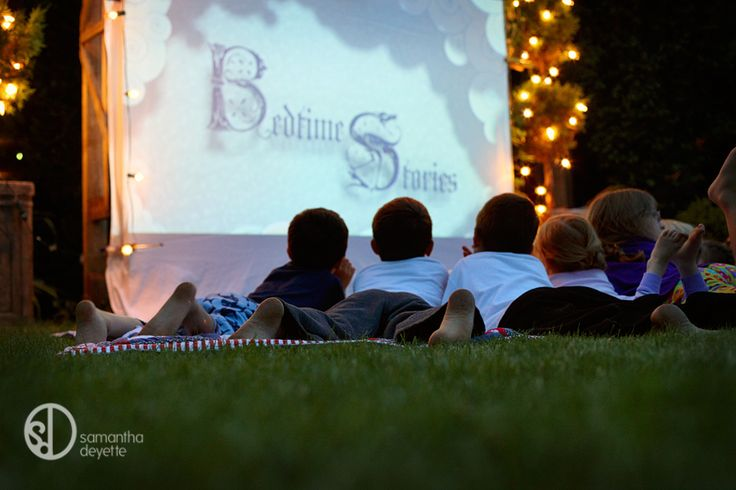 Backyard Movie Night Party : Outdoor Movie Party  HollywoodMovie Party for Girls  Pinterest