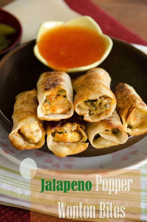 Jalapeno Popper Wontons Recipes — Dishmaps