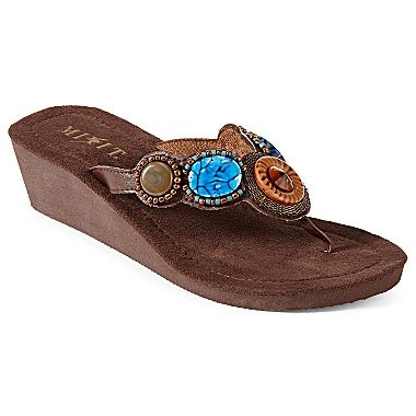 Mixit Circle Wedge Sandals - jcpenney