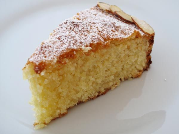 Classic Almond Cake made from real almonds. ;-)