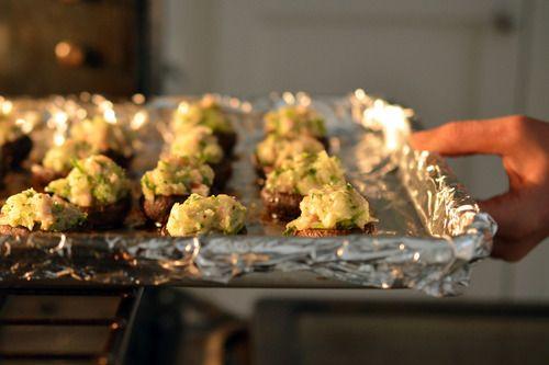 Paleo shrimp-stuffed mushrooms | Appetizers & Snacks | Pinterest