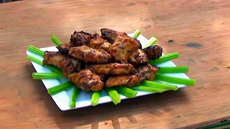 "Grilled Buffalo Style Wings! ""Buffalo wings on the grill. :ohyeaah""..."