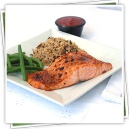 Orange-Balsamic Glazed Salmon | Recipes | Pinterest