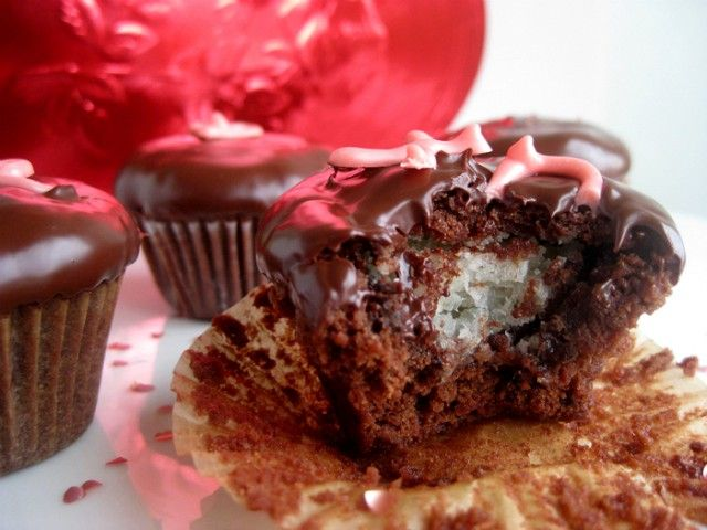 Chocolate Truffle Brownie Bites These say for Valentines Day, But when ...