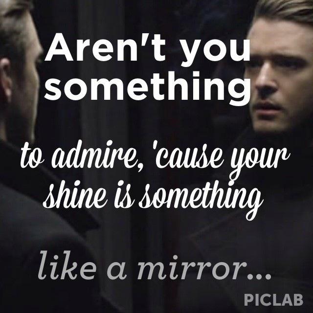 Justin Timberlake Mirrors Lyrics Tumblr