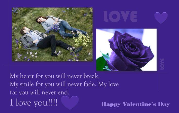 purple valentines day bear