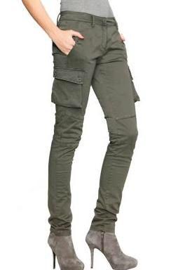 pantalon mujer estilo militar moda para mujeres pinterest