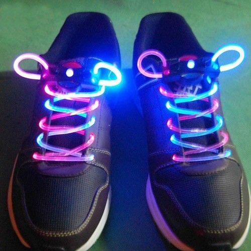 party ktv bar prom dance led flash light up shoes shining shoelaces