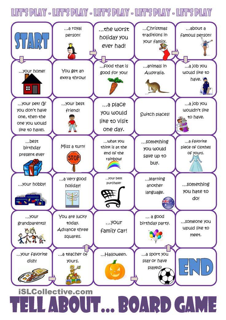 Activities worksheets esl