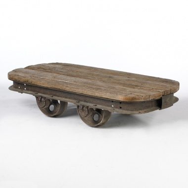Train Cart Coffee Table 5950 Interiors Furniture And Decorations