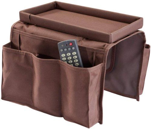Sofa Arm Chair Caddy Brown Baskets Amp Bins Pinterest
