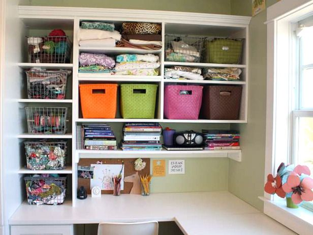 8 kids 39 storage and organization ideas - Art desk with storage organization ...