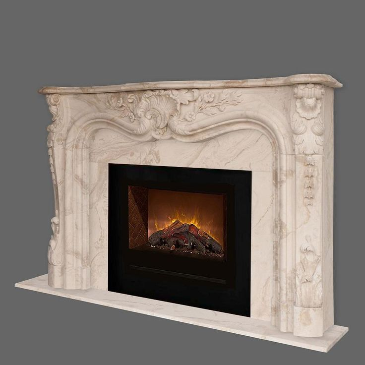 Homefire Electric Fireplace 105 Orleans Marble Mantel