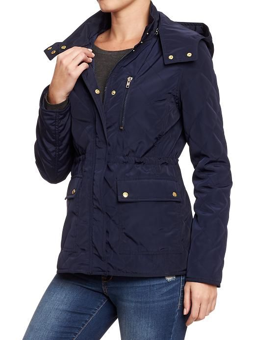 Maxi Dresses: Old Navy Quilted Jacket Women : ladies navy quilted jackets - Adamdwight.com