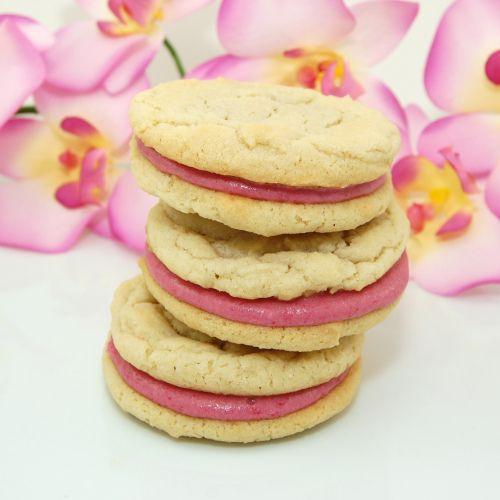Sweet Pea's Kitchen » Raspberry Cream Sandwich Cookies